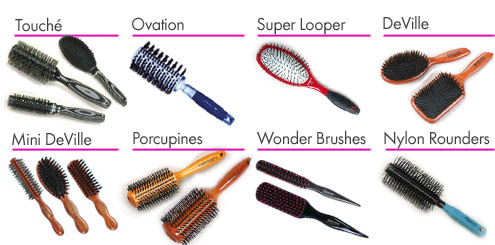 Spornette Brushes/Combs