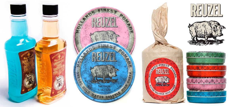 Reuzel Hair Products